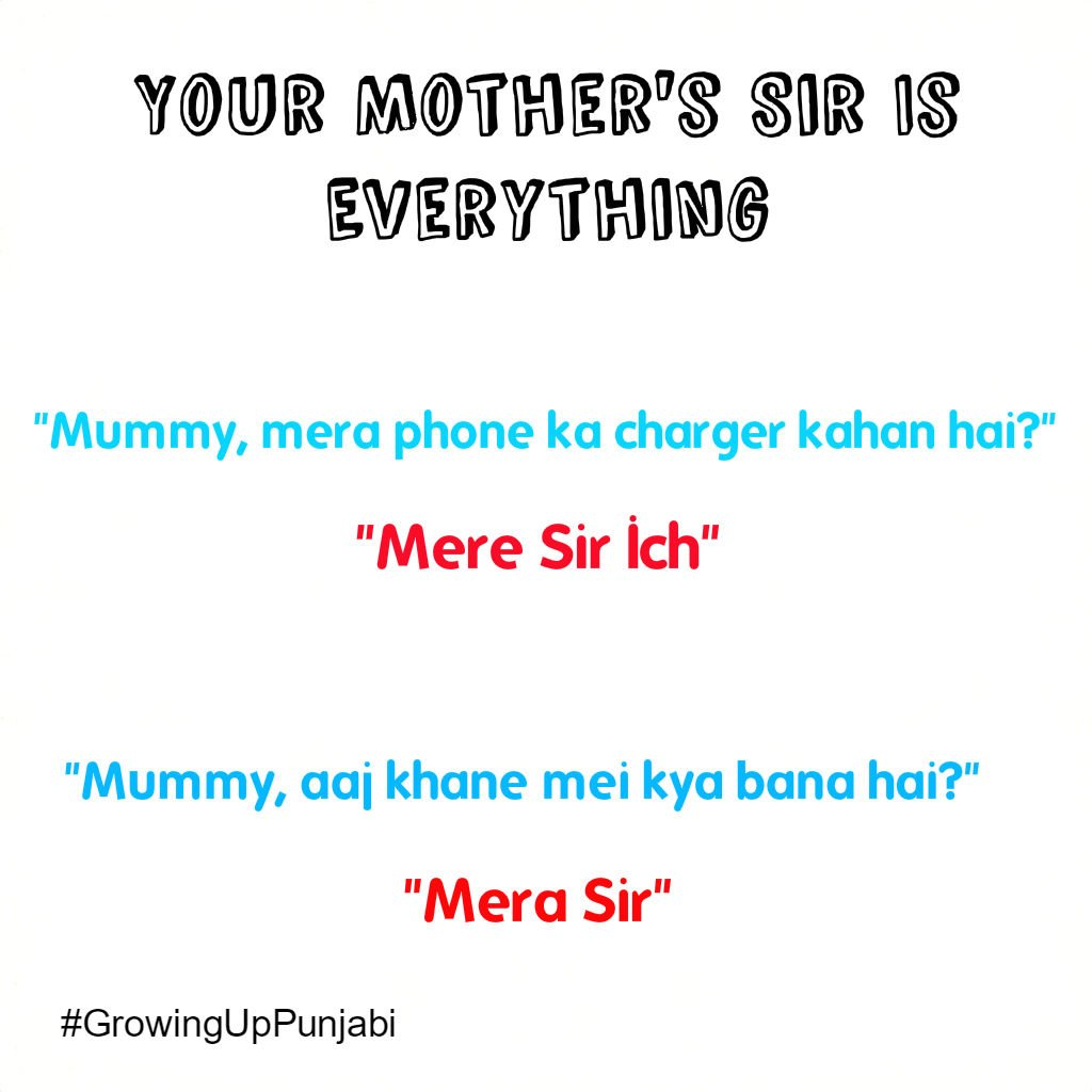 Growing up punjabi