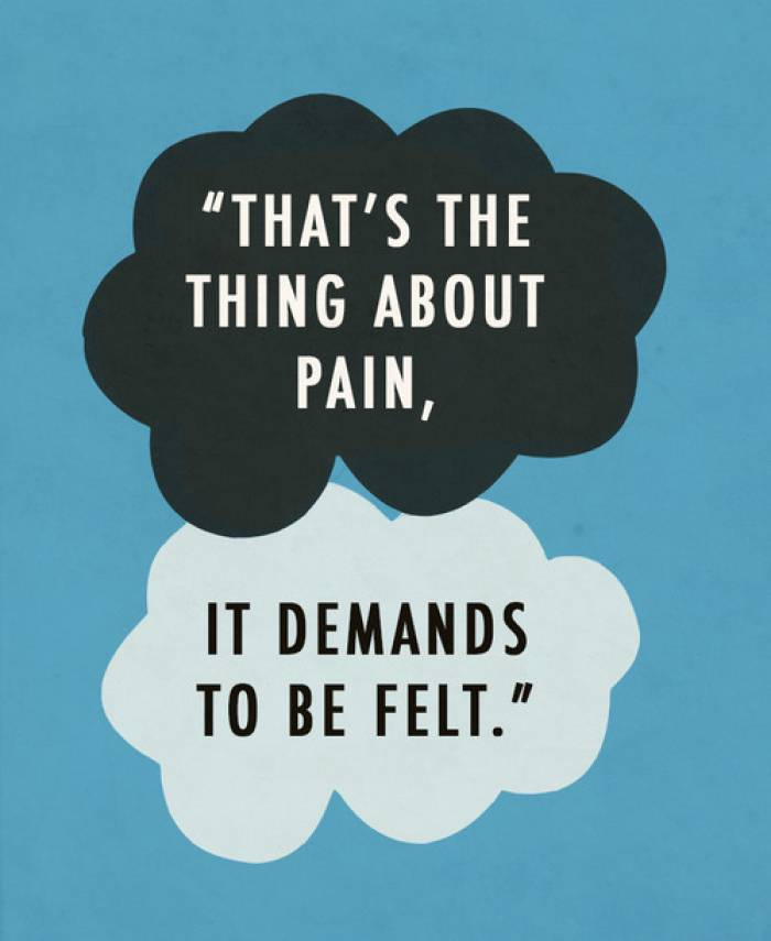 Love Life Sad quotes by John Green