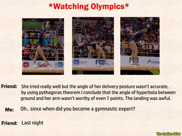 Olympics Funny Memes and Trolls and Tweets by Indians