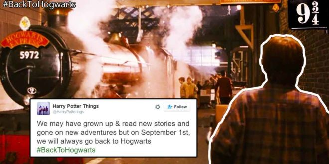 Back to Hogwarts Harry Potter Twitter Tweets