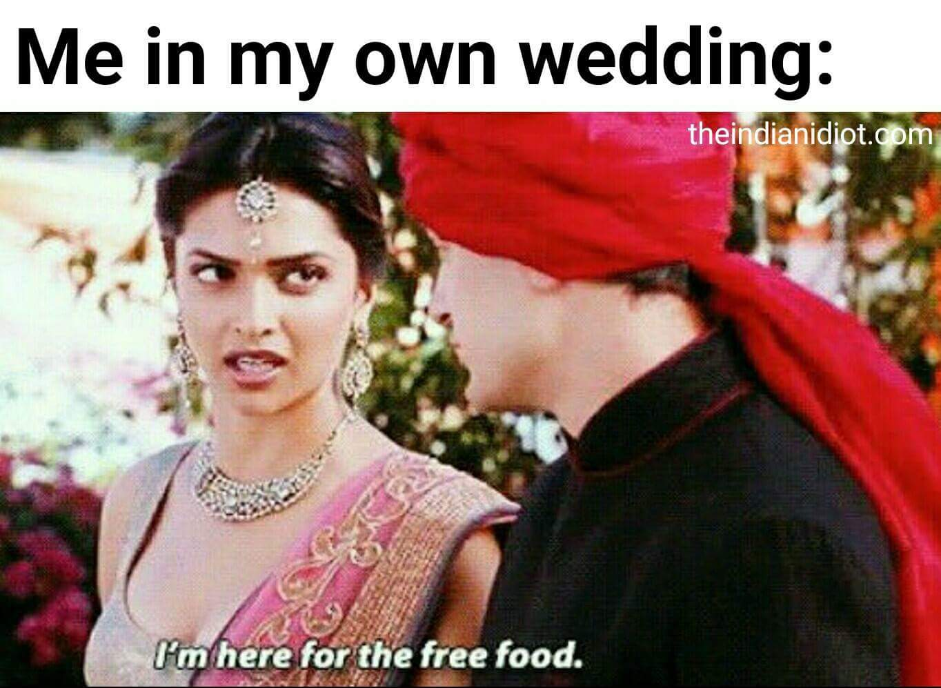 Jokes about Indian weddings