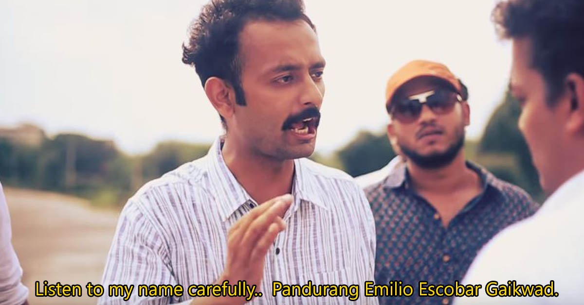 Narcos Indian Desi Pablo Escobar