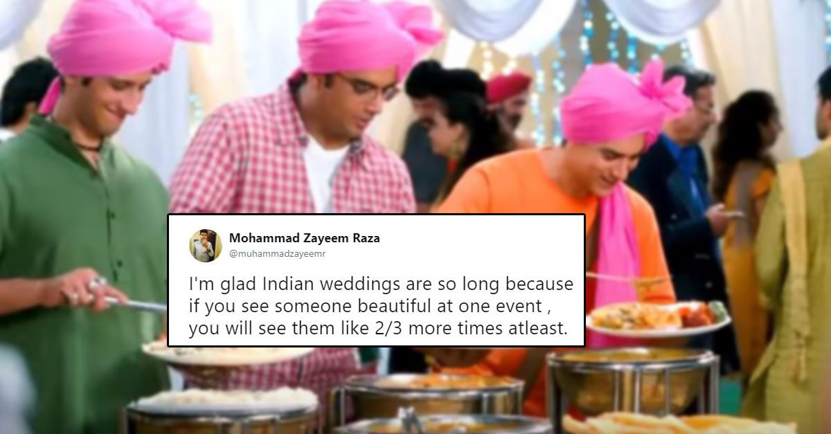 Funny Indian Weddings Tweets That Will Make You Laugh