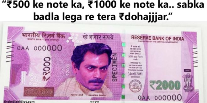 500 1000 rupees notes memes jokes tweets