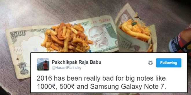 Note Rs 500 1000 ban jokes on Modi tweets