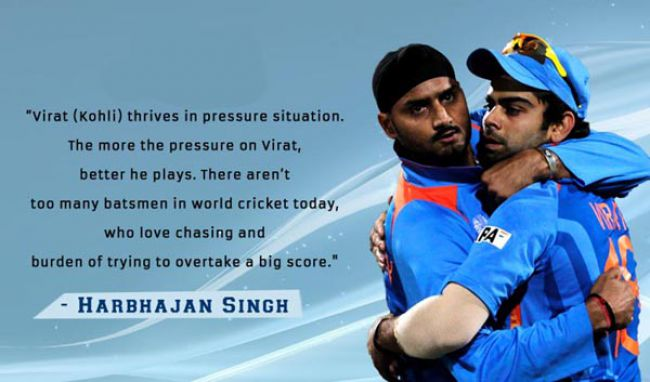 quotes about virat kohli by legendary cricketers around the world