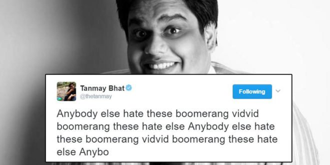 Tweets by standup comedians in india