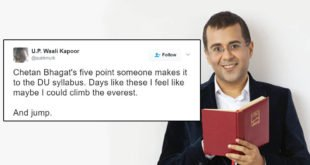 How People Reacted To Chetan Bhagat's Inclusion In DU Syllabus