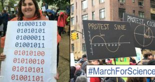 The Wittiest & Funniest Protest Signs From #MarchForScience Around The Globe