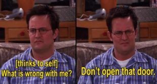 20 Times Chandler Bing Accurately Summed Up Our Lives