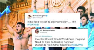 Michael Vaughan Tweets About India; Gets Roasted By Fans
