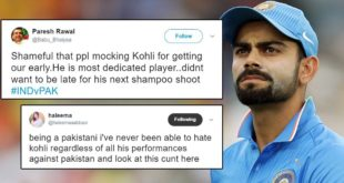 Now Some Indians Are Criticizing Virat Kohli, Even Pakistanis Can't Believe That
