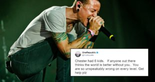 Linkin Park Singer Chester Bennington Commits Suicide By Hanging. RIP.