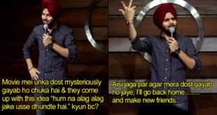 Comedian Jaspreet Singh Hilariously Explains How Stupid Horror Movies Are