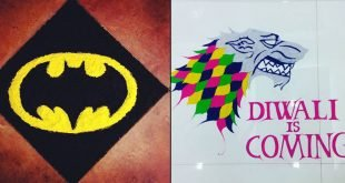 Coolest & Most Creative Rangoli Designs Indians Made On Diwali