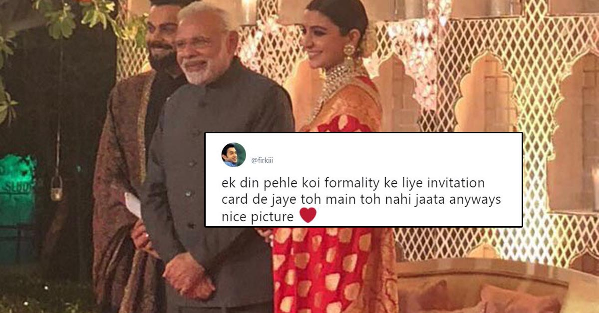 The funniest twitter reactions from virushka ki wedding stopboris Gallery
