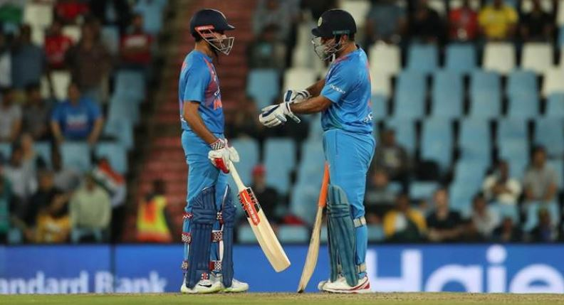 MS Dhoni and Manish Pandey Partnership