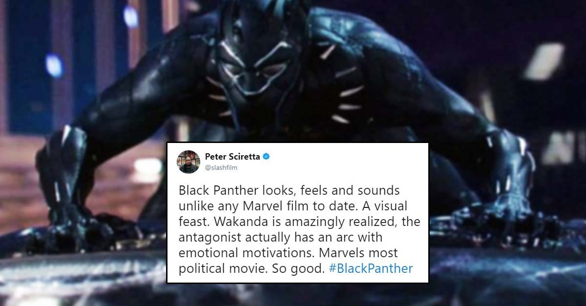Black Panther Early Audience Reviews On Twitter Will Get You Excited