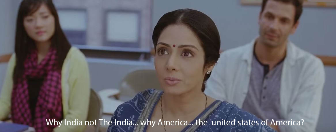 English Vinglish Quote Scene