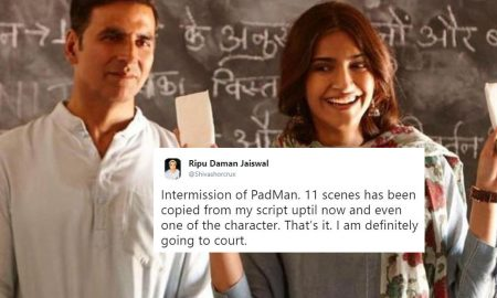 Man Files FIR against Padman