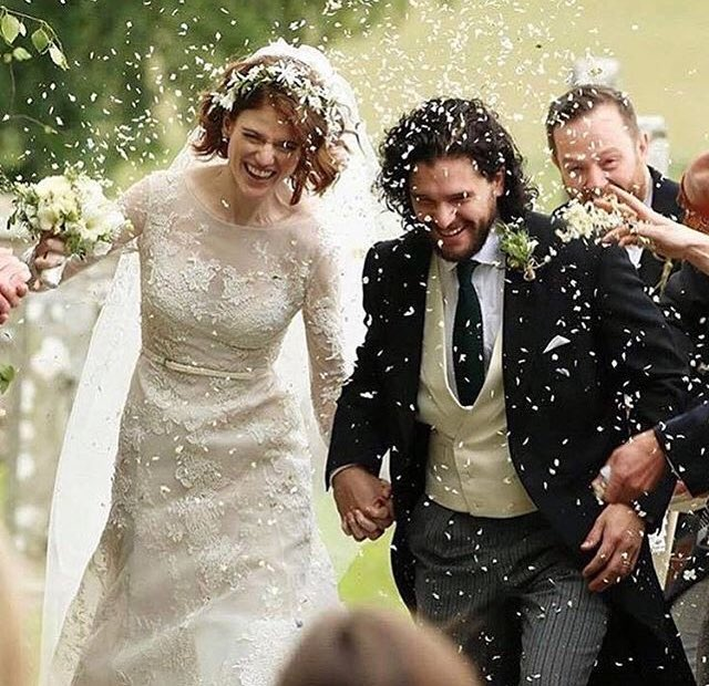 Jon Snow marries Ygritte irl